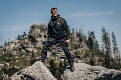 revol jacket + teton 3.0 pants