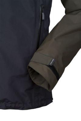 Revol Jacket dark khaki black detail manžeta rukáv