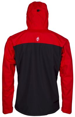 Revol Jacket red black back