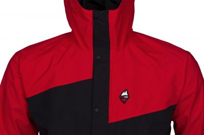 Revol Jacket red black detail