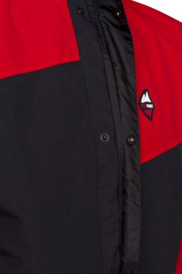 Revol Jacket red black detail lega s okapnicí