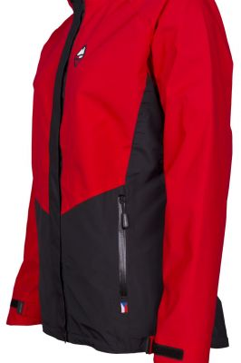 Revol Lady Jacket red_black detail pocket