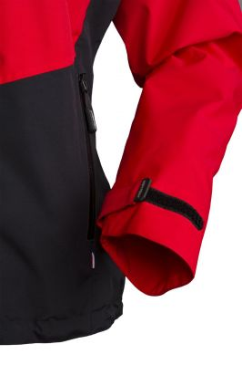 Revol Lady Jacket red_black detail cuff