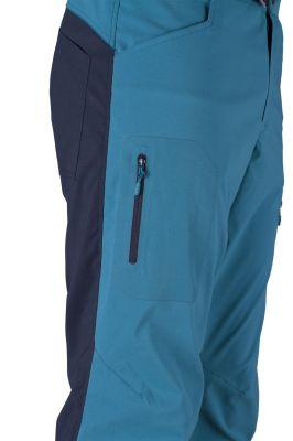 Dash 4.0 Pants petrol-carbon - laminovaná kapsa na pravém stehně