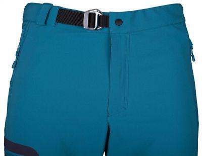 Excelent Pants petrol detail opasek
