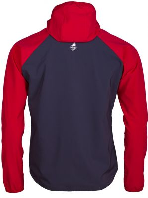 DRIFT 2.0 HOODY JACKET red/carbon back