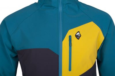 Drift 2.0 Hoody Jacket petrol_carbon detail