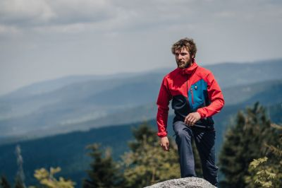 DRIFT 2.0 HOODY JACKET red/carbon