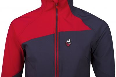 Drift 2.0 Lady Hoody Jacket carbon_red detail
