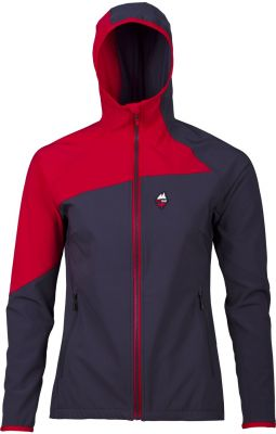 Drift 2.0 Lady Hoody Jacket carbon_red